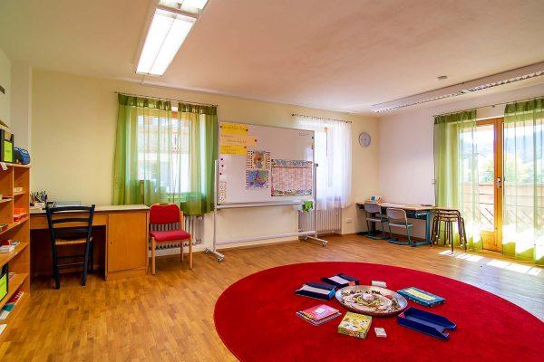 erweiterbarer Klassenraum und Differenzierungsraum Fach Deutsch